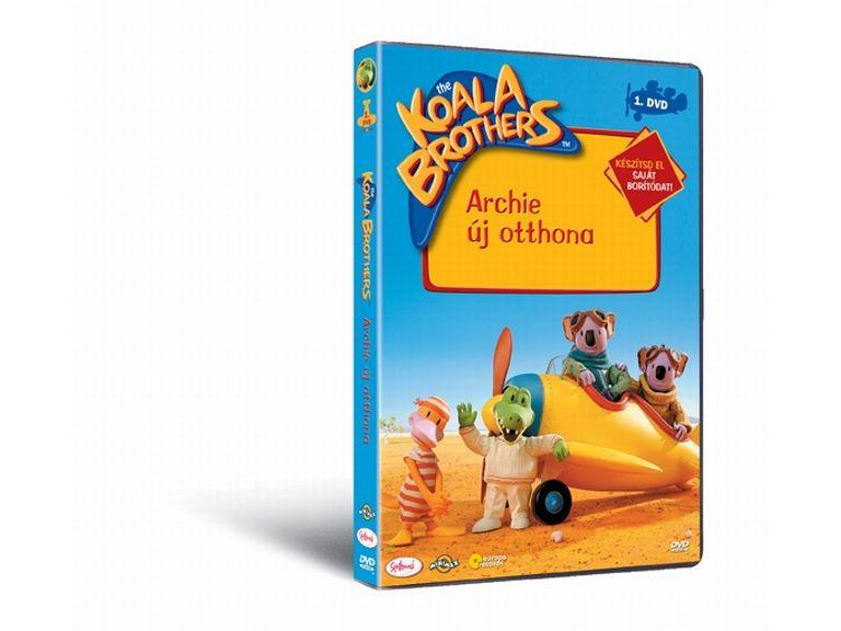 Koala Brother 1. Archie új otthona DVD
