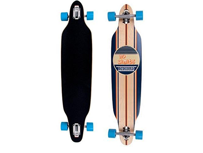 Longboard Skateboard gördeszka 107 cm-es ABEC-7 csapággyal 1 db 17ff387bb1