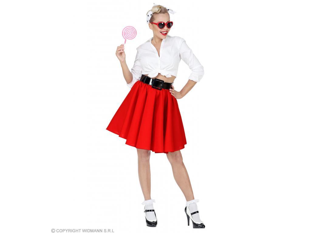 Rock  N  Roll szoknya 4 féle színben női jelmez felnőtt általános méretben ce6e35c68a