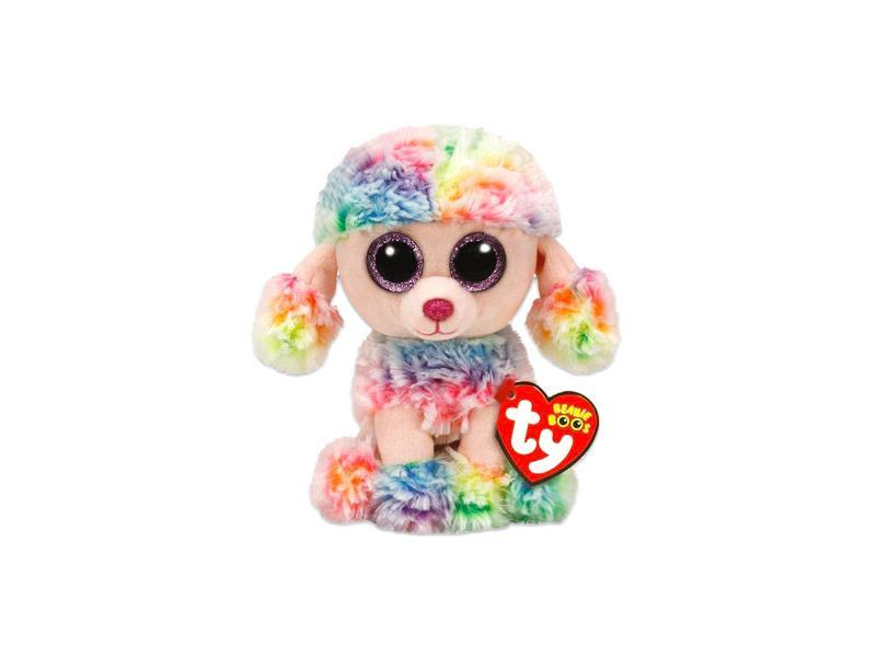 a13e8db79fd1 TY Beanie Boos: Rainbow kutyus plüssfigura - 15 cm