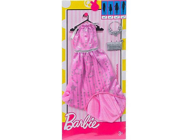 e8a1a0d388 Barbie: Rózsaszín csillagmintás ruha - Mattel