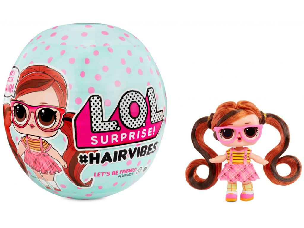 L. O. L. Surprise #Hairvibes Tots Asst in Sidekick