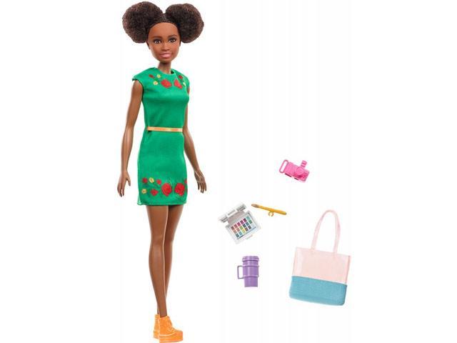 fc769c4728ac Barbie - Dreamhouse Adventures: Nikki utazó baba kiegészítőkkel - Mattel