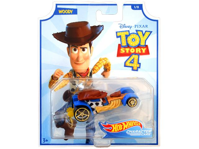 4cfc050972 Hot Wheels Toy Story 4: Woody kisautó 1/64 - Mattel