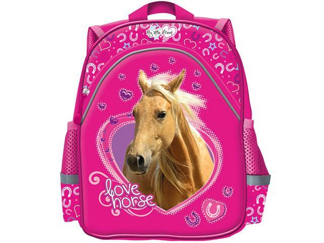 a94e3efc0419 My Little Friend lovas rózsaszín ovis hátizsák