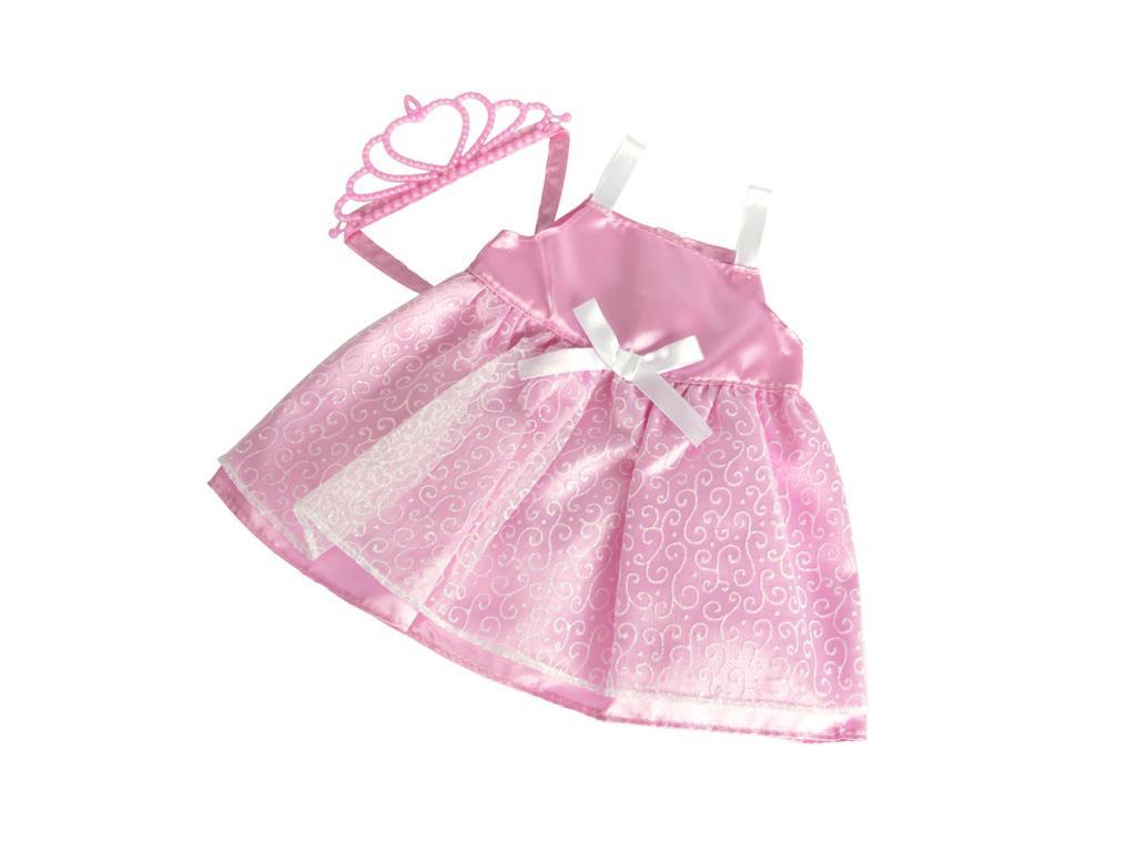 Rózsaszín hercegnős babaruha 4d90c82f67