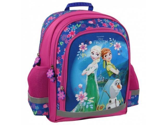 fd417023dca1 Jégvarázs: Virágos iskolatáska hátizsák 38x29x16cm