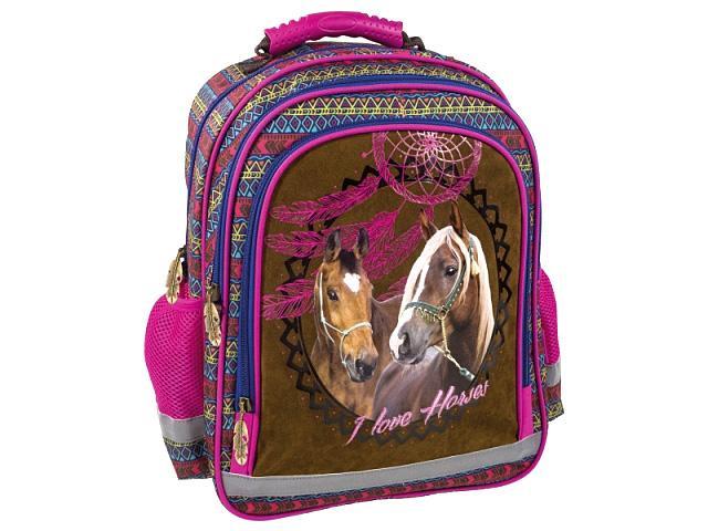 f0826d42b189 I Love Horses Lovas iskolatáska hátizsák