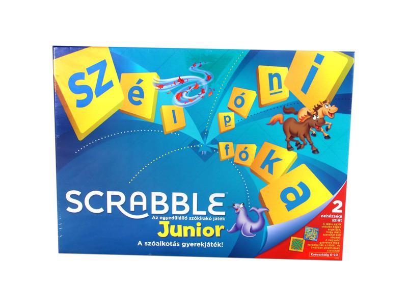 Scrabble Original Junior társasjáték - Mattel