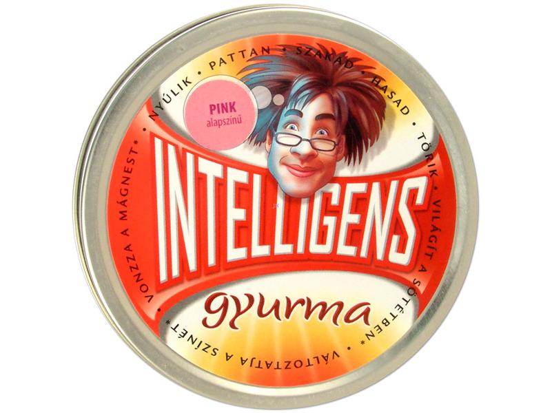 Intelligens gyurma - pink