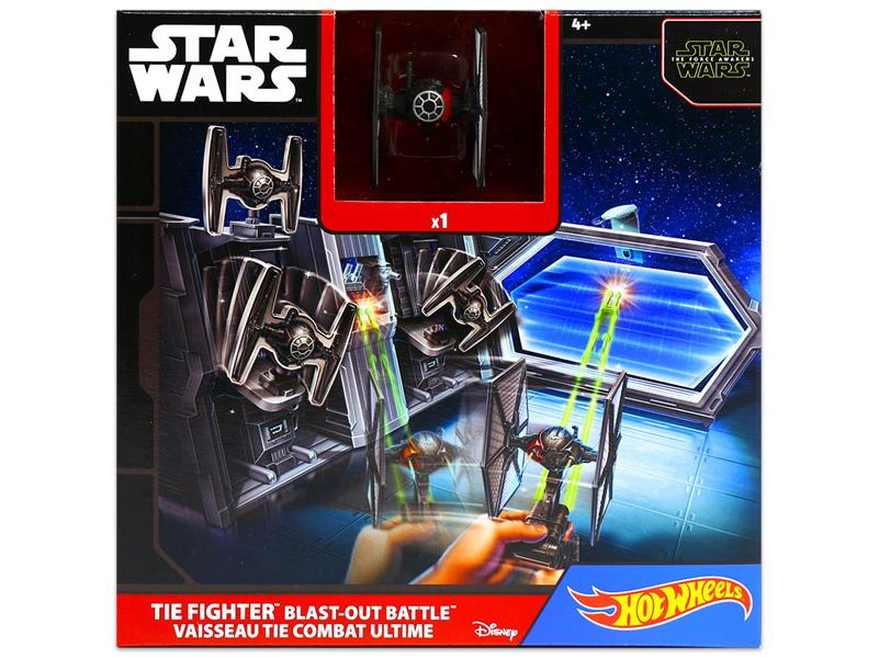 Star Wars Tie Fighter Blast-Out Battle - Hot wheels