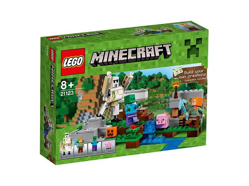 LEGO MINECRAFT: A vasgólem 21123