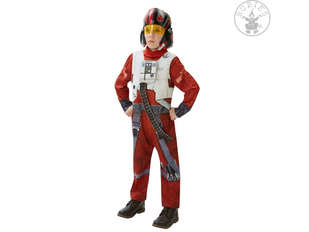 b5fb7c1ff9 Star Wars 7 - Az ébredő Erő: X-WING pilóta overál (Deluxe) fiú jelmez