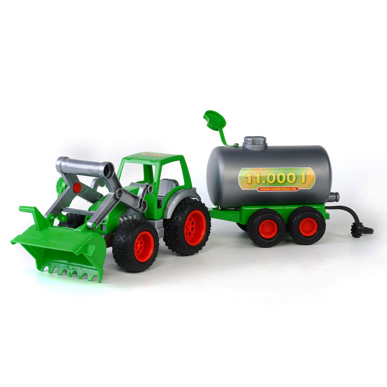 Wader markolós traktor tartálykocsival