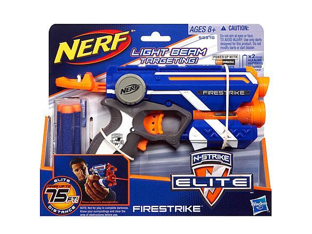 Nerf N-Strike Elite Firestrike szivacslövo fegyver - Hasbro