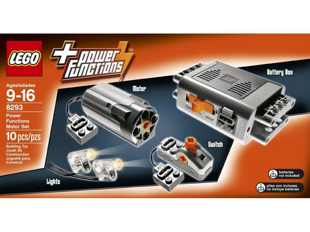 Motorkészlet - Lego Technic 8293 - Lego Technic