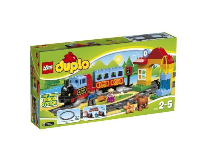 Vasúti kezdő szett 10507 - Lego Duplo Építés és szerepjáték