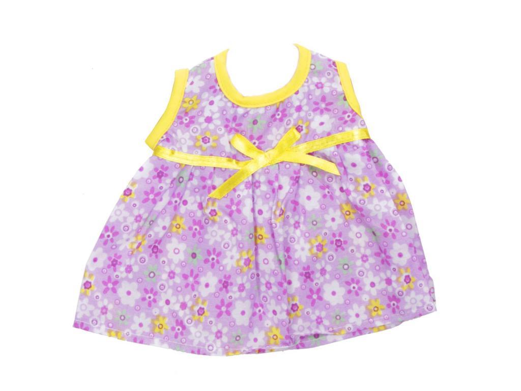 77aa278c0b Baba nyári ruha 46 cm-es babához