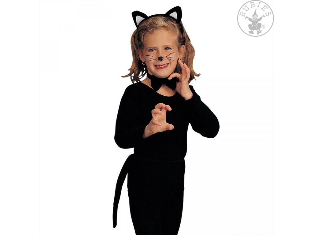 Macska szett gyerekeknek lány jelmez fekete színben fedff2101f