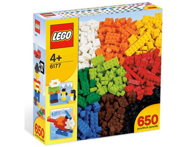 Alapelemek Deluxe - 650 alkatrésszel 6177 - Lego Kreatív építés