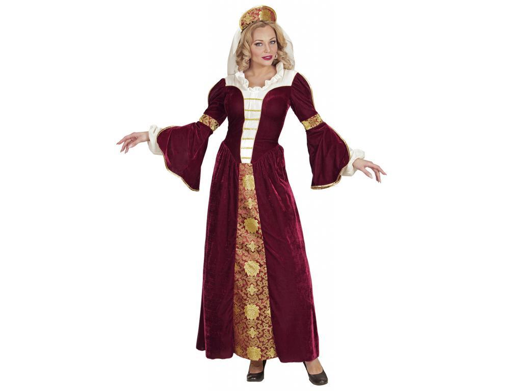 Középkori királynő női jelmez 3d94cad145