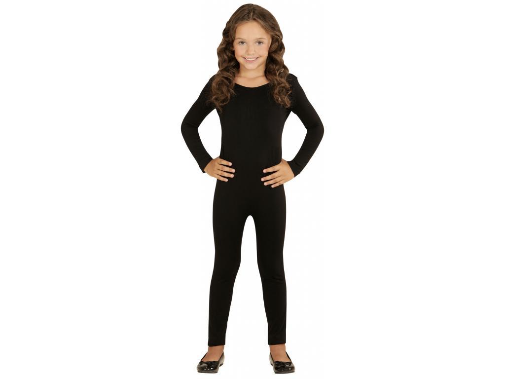 Body kezeslábas lány jelmez fekete színben 7259d10d14