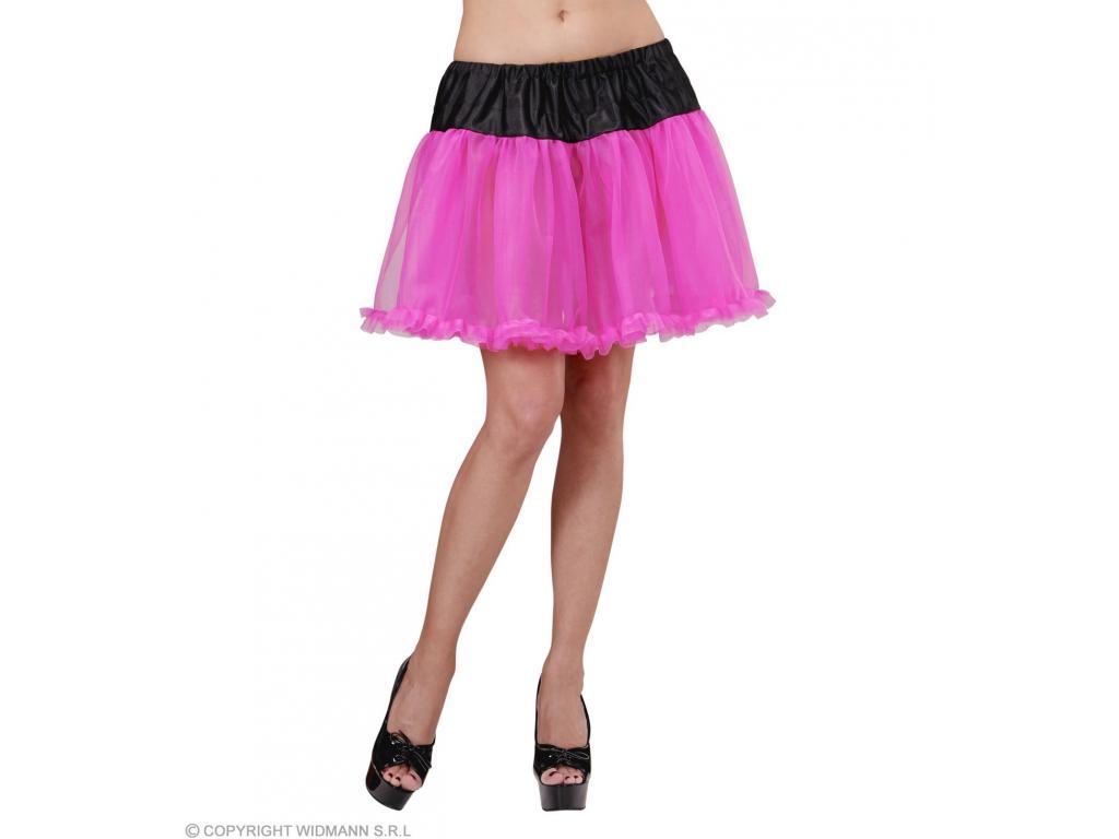 Fekete pink alsószoknya lány jelmez 65bdbd449d