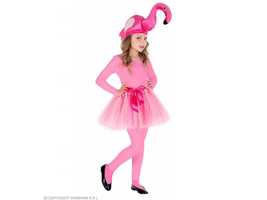 370605348c Flamingó lány jelmez 110 cm-es méretben
