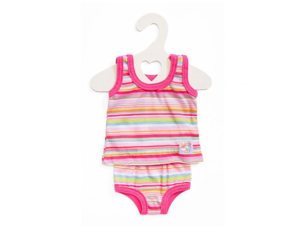 Kis alsónemű lányoknak 35-45 cm-es babára rózsaszín 8772232a99