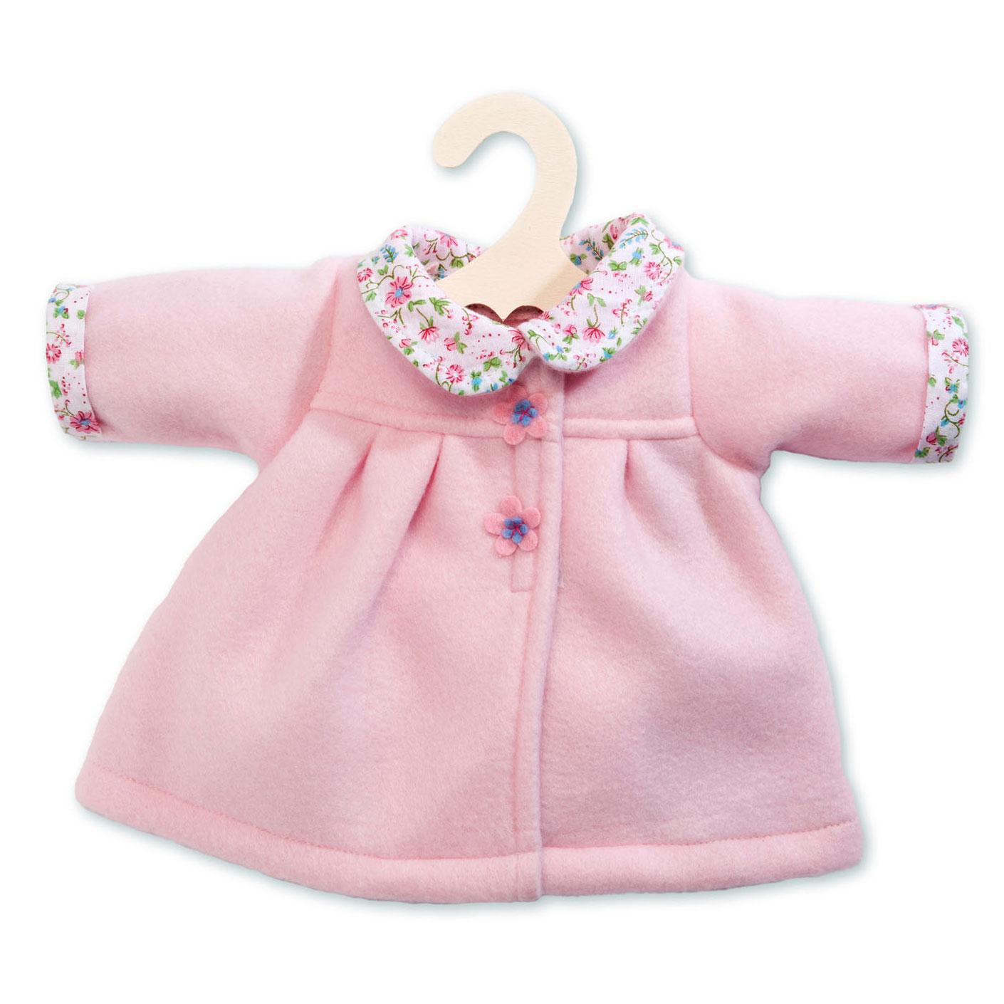 be7c37414c Játékbaba télikabát, 35-45 cm, rózsaszín