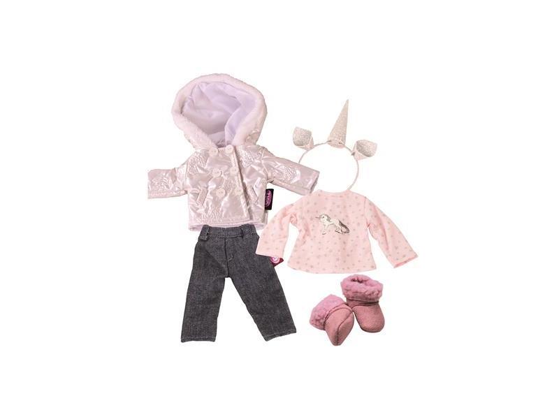 c3743c30ab Götz játékbaba ruha, Téli szett, 27 cm