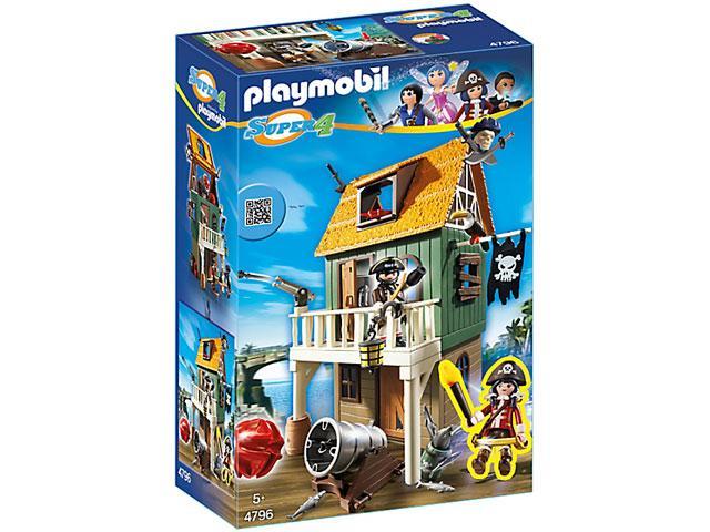 Ruby a kalóztanyán 4796 - playmobil