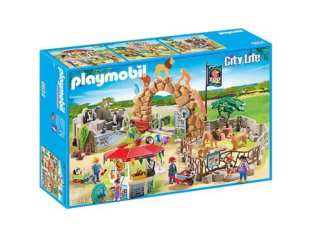 Kalandozások az állatkertben 6634 - Playmobil