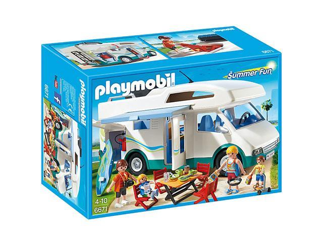 Négykerekű nyaraló 6671 - Playmobil