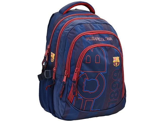 FC Barcelona ergonomikus iskolatáska hátizsák kék színben a16364d417